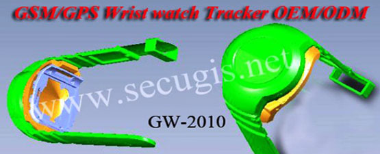 GPS Wrist Watch Tracker